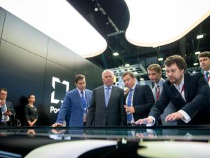 Ssergej Tschemesov an der PMEF -2017