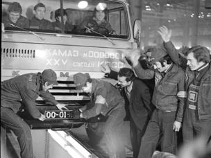 KAMAZ feiert 40 Jahre Lkw-Produktion