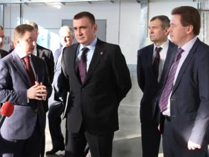Алексей Дюмин посетил предприятие Ростеха