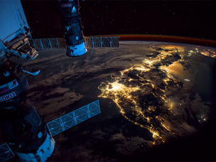 Roselektronika hat ein Videosystem für den Betrieb im freien kosmischen Raum entwickelt