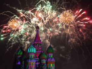 Rostec to Manage a Large Fireworks Show in Moscow