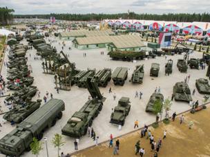 """ستعرض """"روس أوبورون اكسبورت"""" أكثر من 270 نموذجًا من نماذج الأسلحة"""