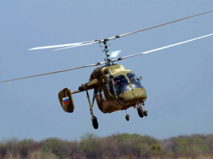 Russian Helicopters has begun a project to produce the Ka-226T in India