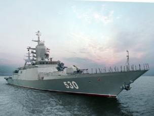 Rosoboronexport presenta en París los más avanzado modelos de armamento naval