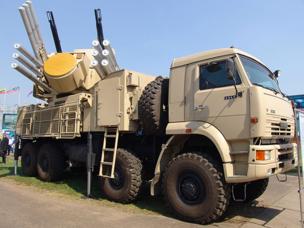 """""""Pantsir-C1"""" ha despertado el interés de militares malasios"""