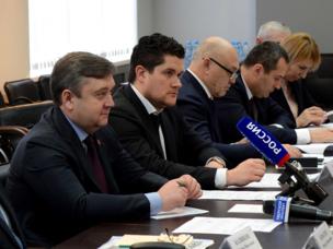 Губернатор Тверской области ознакомился с производством предприятия «РТ-Химкомпозита»
