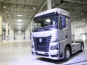 KAMAS und Daimler haben eine neue Fahrerhausgestellproduktion gebaut