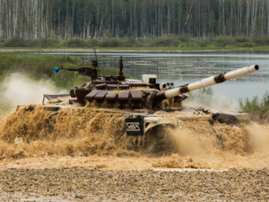 Russia Won the Tank Biathlon