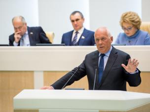 Sergey Chemezov presenta un informe en el Consejo de la Federación Rusa