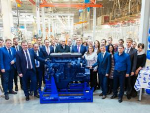 KAMAS startet die P6-Motorproduktion