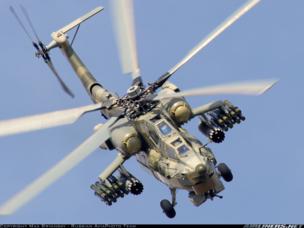 «Вертолеты России» экспортировали первые Ми-28НЭ с бортовым комплексом обороны