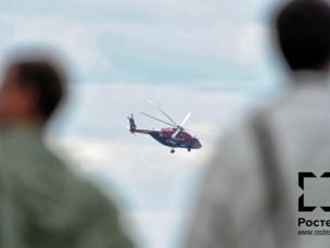 Mi-38 auf der MAKS-2013