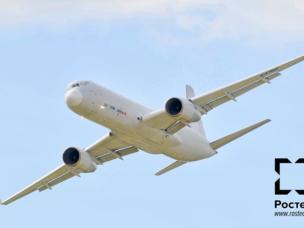 El Tu-204SM en MAKS-2013