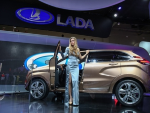 AvtoVAZ auf der Moskau International Motor Show-2014