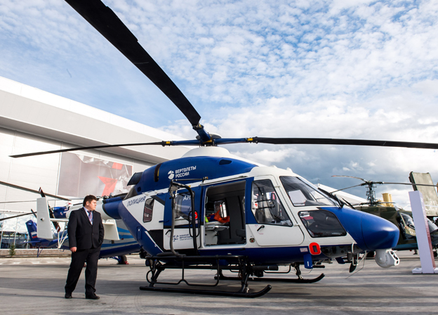 Rosoboronexport to bring masterpieces of Russia's helicopter industry to HeliRussia-2017