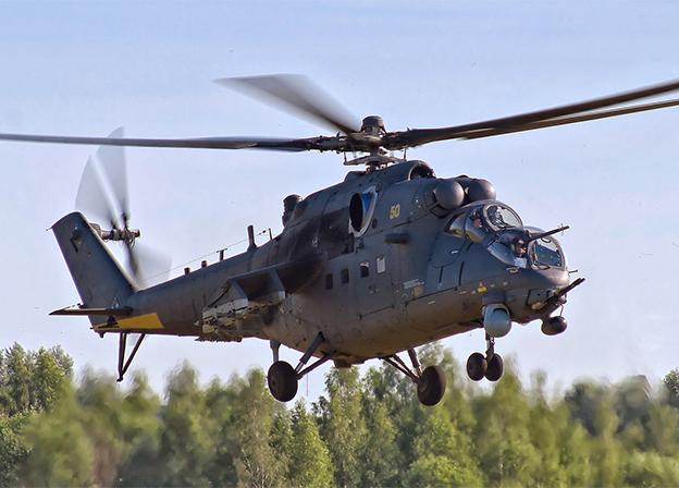 Helicópteros de Rusia y la República del Perú han firmado contratos para el mantenimiento de helicópteros Mi-35