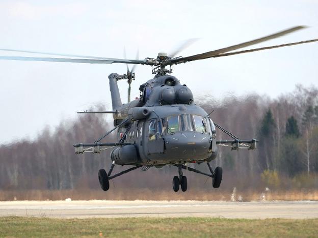 Вертолет Ми-171Е в VIP-модификации поставлен в Уганду