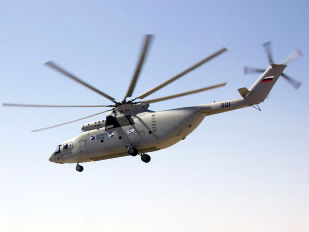 Russian Helicopters launches series production of the Mi-26T2