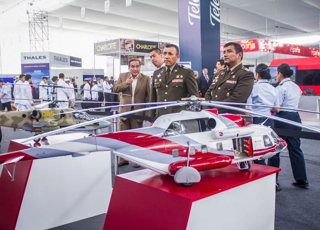 Rosoboronexport to bring 250-plus pieces of equipment to SITDEF-2017 in Peru