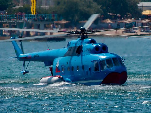 «Вертолеты России» готовы возобновить производство амфибии Ми-14ПС