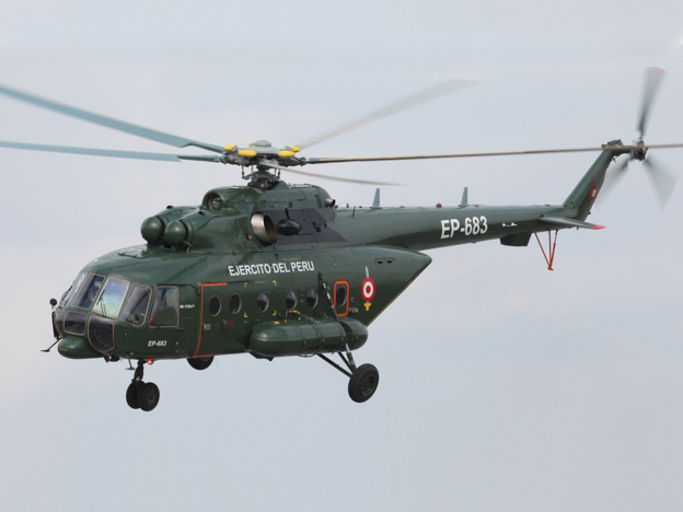 Russian Helicopters has delivered another batch of Mi-171Sh helicopters to Peru