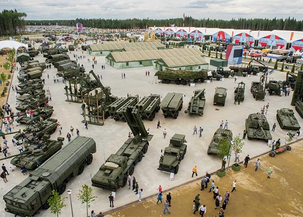 """""""俄罗斯国防产品出口公司"""" 展览会展示270多种武器类型"""