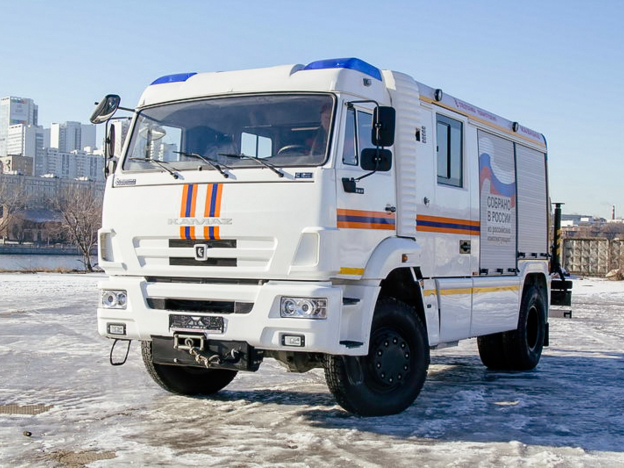"""Vehicle on KAMAZ chassis received the status of """"Innovative Product"""""""