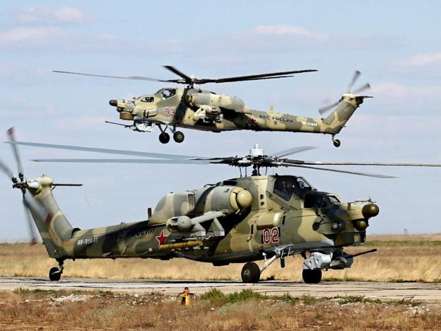 Первые вертолеты Ми-28УБ готовы к передаче Минобороны России