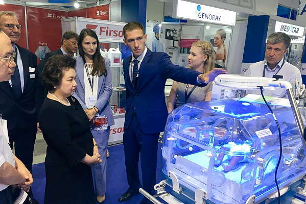 Shvabe Demonstrated Medical Equipment at an Exhibition in Thailand