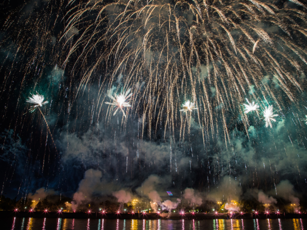 The Rostec International Fireworks Festival Will Start in Moscow