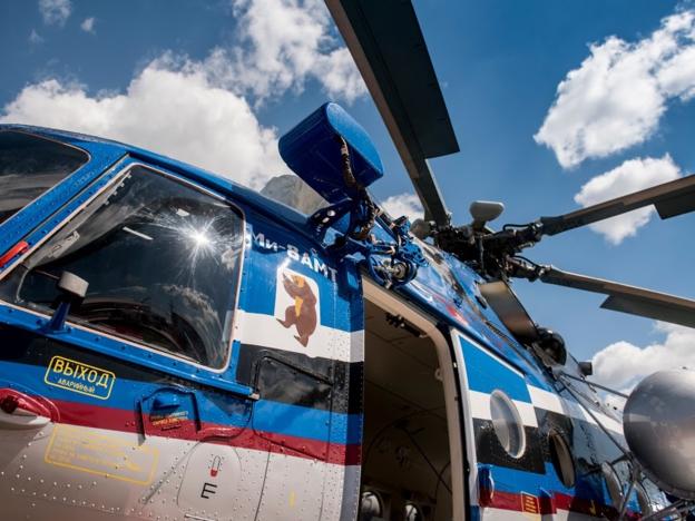 Ми-8АМТ окажет медпомощь жителям труднодоступных районов Хакасии