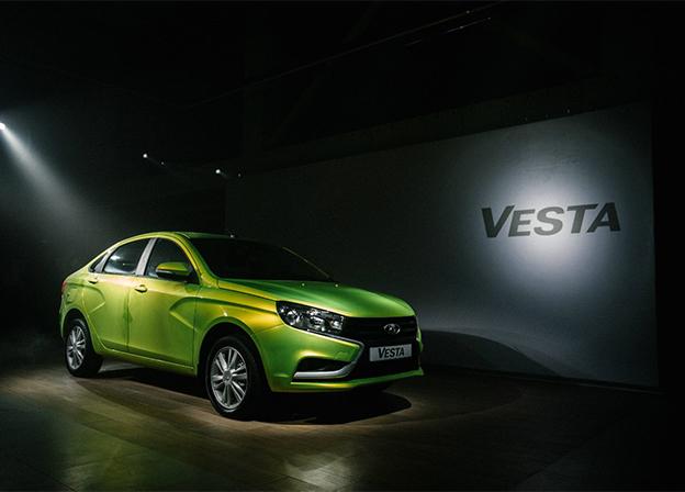 LADA Vesta впервые вошла в европейский топ-100 продаж