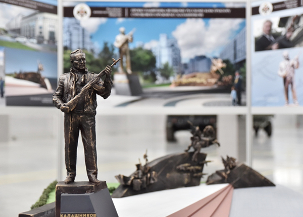 Памятник Михаилу Калашникову откроют накануне Дня Победы