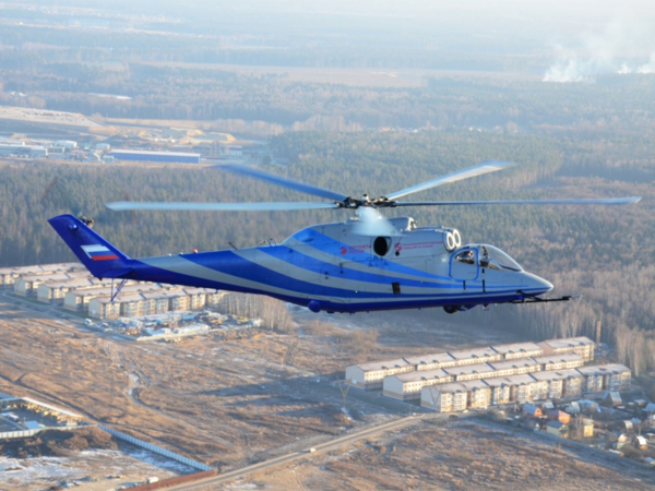 Promising high-speed helicopter (PSV) Ll-psv