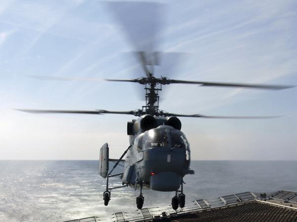 вертолетов Ка-27 на