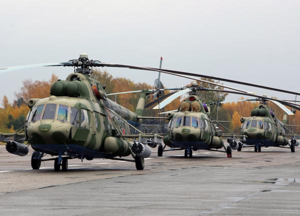 Холдинг «Вертолеты России» установил Минобороны Беларуси партию вертолетов Ми-8МТВ-5