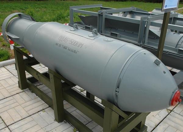 «Техмаш» разработал неконтактный взрыватель для авиабомб