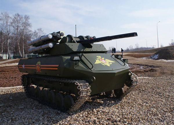 «Рособоронэкспорт» готовится кэкспорту военных роботов