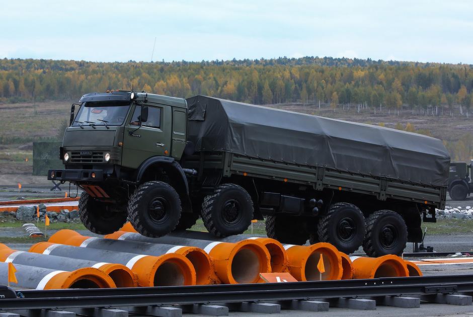 Kamaz Truck Turns 40