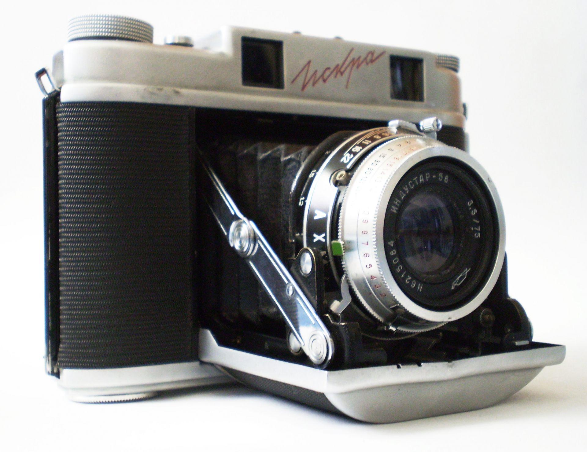 Среднеформатные пленочные советские фотоаппараты