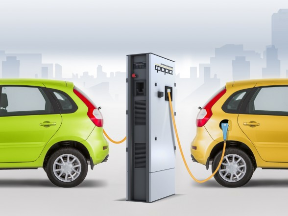 KRET has created a universal EV charging station