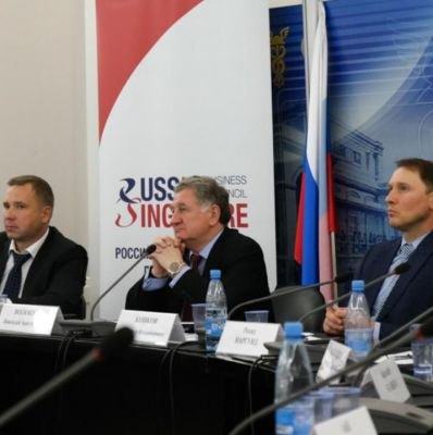Nikolay Volobuev Held a Meeting of the Russia-Singapore Business Council