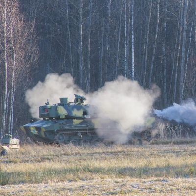 "Rostec Completes Acceptance Trial of ""Lotos"" Self-propelled Artillery Gun"