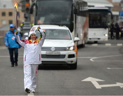 Sochi 2014 Olympic Torch Relay