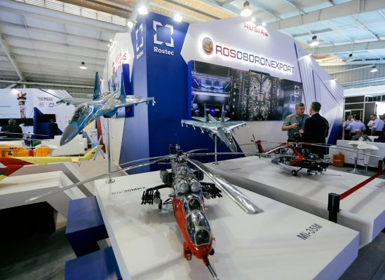 Rosoboronexport Steps up Cooperation With Peru