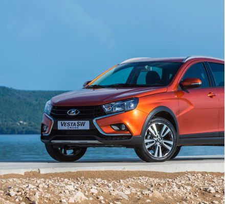 LADA Vesta SW Cross got Russian Auto Forum-2018 Award