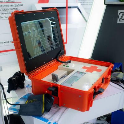 Rostec Presents Modernized Robotic Nurse