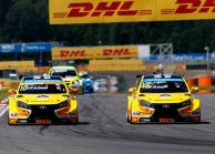 Lada SPORT ROSNEFT made it to its first podium of the 2015 WTCC season