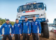 Vladimir Putin Handed out the Awards to the Members of KAMAZ-Master Team
