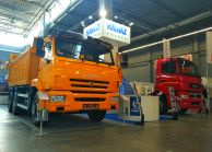 KAMAZ Introduced Construction Dump Trucks in Poland